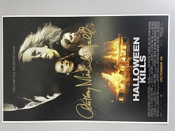 Halloween Kills Poster 11x17 Signed by Anthony Michael Hall