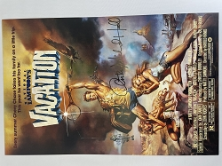 National LAMPOON'S Vacation Poster 11x17 Signed by Anthony Michael Hall