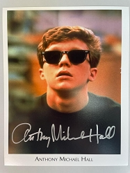 The Breakfast Club Photo 8x10 Signed by Anthony Michael Hall