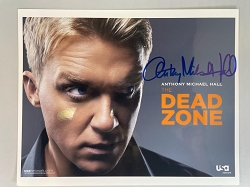 The Dead Zone Photo (B) 8x10 Signed by Anthony Michael Hall