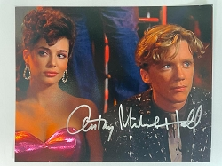 Weird Science 8x10 Signed by Anthony Michael Hall