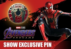 Iron Spider-Man Avengers Endgame Pin [2019 NYCC Exclusive]