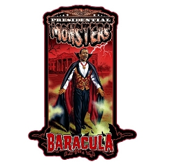 Presidential Monster Pin - Baracula [2019 NYCC Exclusive]