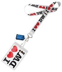 Doctor Who: I Love Doctor Who Lanyard
