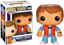 POP! Movies: Back to the Future - Marty McFly Vinyl Figure #49