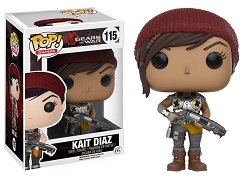 POP! Games: Gears Of War - Kait Diaz Vinyl Figure #115