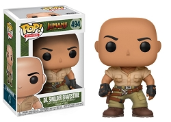 POP! Movies: Jumanji Welcome To The Jungle - Dr. Smolder Bravestone Vinyl Figure #494