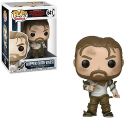 POP! Television: Stranger Things - Hopper (With Vines) Vinyl Figure #641
