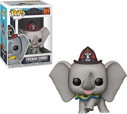 POP! Disney: Dumbo (2019) - Fireman Dumbo Vinyl Figure #511
