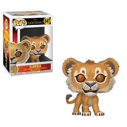 POP! Disney: The Lion King (2019) - Simba Vinyl Figure #547