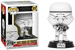 POP! Star Wars - First Order Jet Trooper Vinyl Booble-head Figure # 317