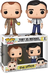 POP! Television: The Office - Toby vs Michael Vinyl Figure 2pk