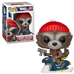 POP! Heroes: Marvel - Rocket (Holiday) Vinyl Figure #531