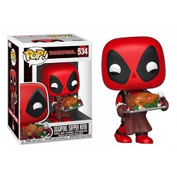 POP! Heroes: Marvel - Deadpool (Supper Hero) Vinyl Figure #534