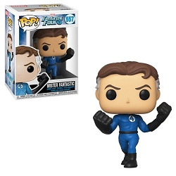 POP! Heroes: Marvel Fantastic Four - Mister Fantastic #557 Vinyl Figure