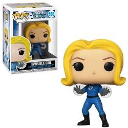POP! Heroes: Marvel Fantastic Four - Invisible Girl #558 Vinyl Figure