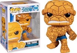POP! Heroes: Marvel Fantastic Four - The Thing Vinyl Figure #560