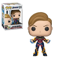 POP! Heroes: Marvel Avengers Endgame - Captain Marvel Vinyl Figure #576