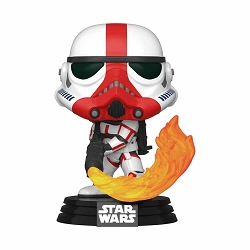 POP! Star Wars: The Mandalorian - Incinerator Stormtrooper Vinyl Figure #350