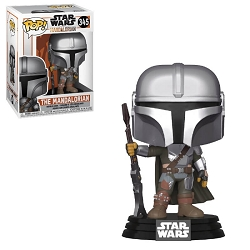 POP! Star Wars: The Mandalorian - The Mandalorian Vinyl Figure #345