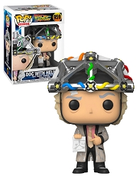 POP! Movies: Back To The Future - Doc With Helmet #959