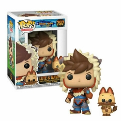 POP! Animation: Monster Hunter Stories Ride On - Lute & Navirou Vinyl Figure #797