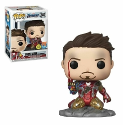POP! Heroes: Marvel Avengers Endgame - Iron Man (I am Iron Man) PX Exclusive Glows in the Dark Vinyl Figure #580