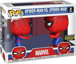 POP! Marvel: Spider-Man Vs. Spider-Man Vinyl Bobble-Heads Figures 2Pack Entertainment Earth Exclusive LE