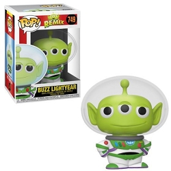 POP! Disney Remix: Alien - Buzz Lightyear Vinyl Figure #749