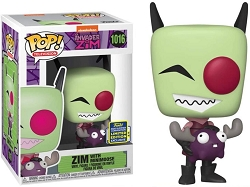 POP! Television: Invader Zim - Zim with Minimoose  #1016 Funko Exclusive Summer Convention 2020