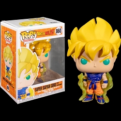 POP! Animation: Dragon Ball Z - Super Saiyan Goku First Appearance Vinyl Figure #860