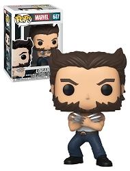 POP! Marvel: X-Men - Logan Bobble-Head Figure #647