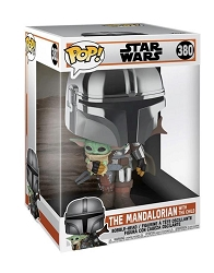 POP! Star Wars: The Mandalorian - The Mandalorian with the Child Bobble-Head Figure 10