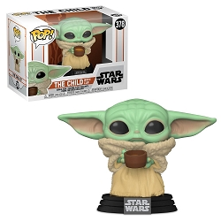 POP! Star Wars: The Mandalorian - The Child with Cup Vinyl Figure #378
