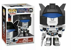 POP! Retro Toys: Transformers - Jazz Vinyl Figure #25
