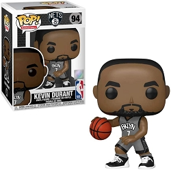 POP! Basketball: Brooklyn Nets -Kevin Durant (Alternate) Vinyl Figure #94