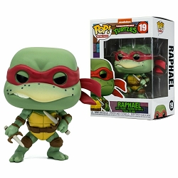 POP! Retro Toys: Teenage Mutant Ninja Turtles - Raphael Vinyl Figure #19