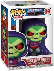 POP! Retro Toys: Master of The Universe - Terror Claws Skeletor Vinyl Figure #39