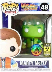 POP! Movies - Back To The Future - Marty McFly Vinyl Figure #49 Plastic Empire LE