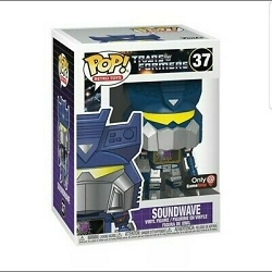POP! Retro Toys: Transformers - Soundwave Vinyl Figure #37 GameStop Exclusive
