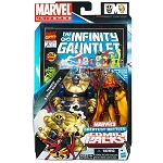 Marvel Universe: Greatest Battles Comic Pack - Thanos & Adam Warlock Action Figure 2-Pack