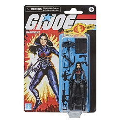 Hasbro GI Joe: Retro - Baroness 3.7 inch Action Figure Walmart Exclusive