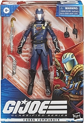 Hasbro GI Joe: Classified Series - Cobra Commander Action Figure