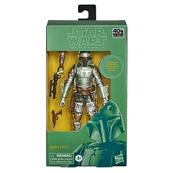 Star Wars The Black Series Carbonized Collection:  The Empire Strikes Back Figure - Boba Fett