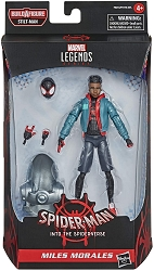 Marvel Legends Series: Spider-man Into The Spider Verse - Miles Morales