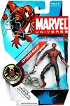 Marvel Universe: Series 1 - Spider-Man Action Figure #32 (Upside Down Variant)