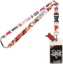 Street Fighter V Lanyard