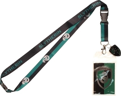 Harry Potter: Slytherin Metal Charm Lanyard