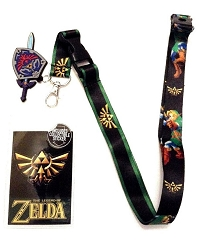 Legend of Zelda: Hyrule Shield Lanyard