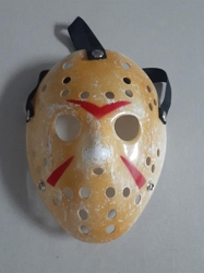 Friday The 13th Jason Voorhees Mask Signed by Warrington Gillette